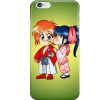 Samurai Kiss iPhone Case/Skin