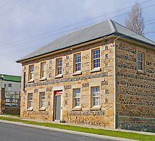 Avoca Post Office, Tasmania by Graeme  Hyde