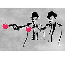 Laurel & Hardy Mashup Photographic Print