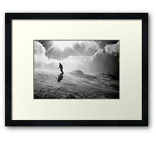 snowboarder II Framed Print