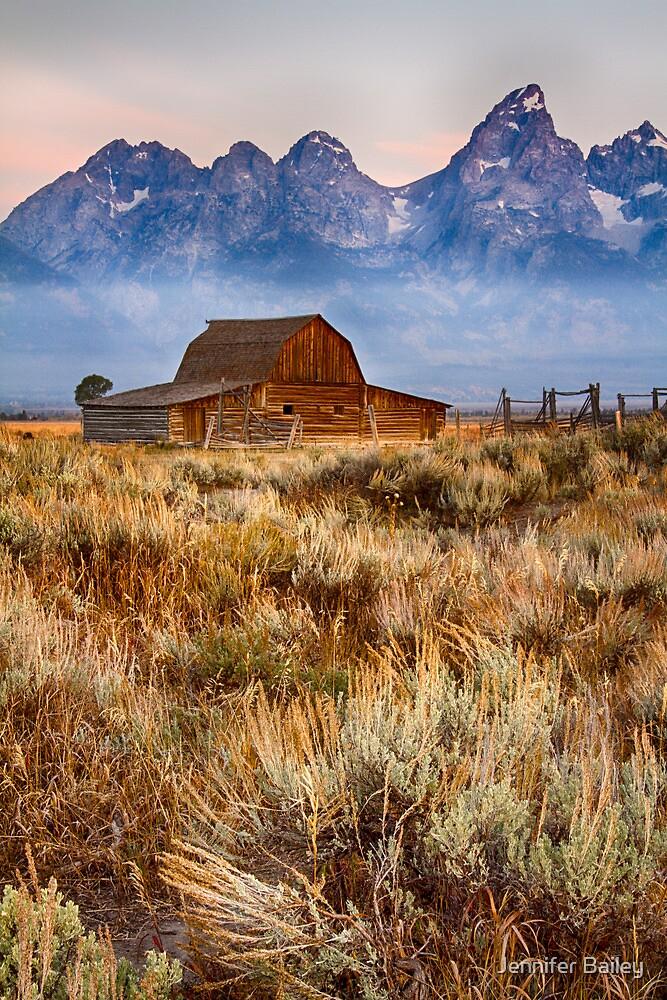 Day Break on the Prairie by Jennifer Bailey