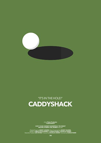 Caddyshack Movie Poster by byxii