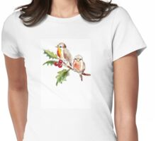 Two Little Birds 3 Womens Fitted T-Shirt