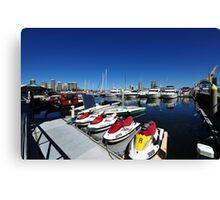 Southport Yacht Club. Queensland, Australia. Canvas Print