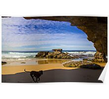 Caves Beach Newcastle NSW Poster