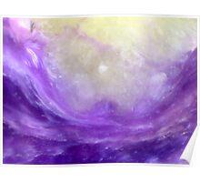 Parting The Purple Sea (Charoite) Poster