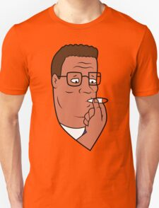 Hank Hill Smoking Weed Unisex T-Shirt