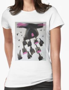 free falling Womens Fitted T-Shirt