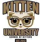 Kitten University - Brown by Adamzworld
