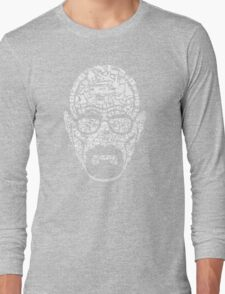The Making of a Heisenberg Long Sleeve T-Shirt