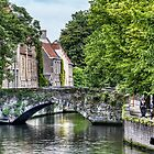 Meestraat Bridge in Bruges by Marc Garrido Clotet