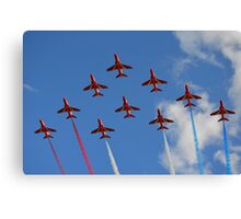 The Red Arrows 1/3 Canvas Print