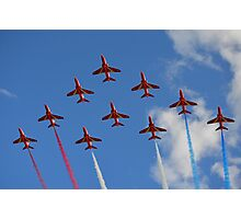 The Red Arrows 1/3 Photographic Print