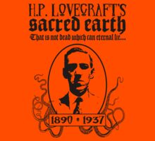 H.P. Lovecraft by BungleThreads