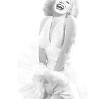 Marilyn Monroe.  by John Medbury (LAZY J Studios)