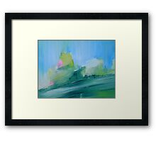 GREEN LABORATORY Framed Print