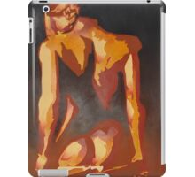 Beautiful Young Woman Wearing Plaits and Panties (Neutral) iPad Case/Skin