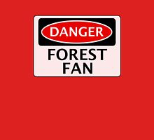 DANGER NOTTINGHAM FOREST, FOREST FAN, FOOTBALL FUNNY FAKE SAFETY SIGN Unisex T-Shirt