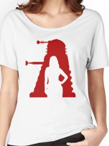 Asylum of the Dalek's T-shirt Women's Relaxed Fit T-Shirt
