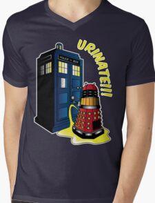 Disgraceful Dalek Mens V-Neck T-Shirt