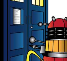 Disgraceful Dalek Sticker