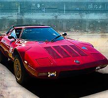 Lancia Stratos by Stuart Row