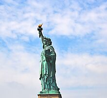 Statue of Liberty (2) by Elinor Barnes