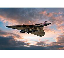 Vulcan Bomber Photographic Print
