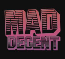 Mad Decent - Pink & Black by PauloDc