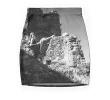 Watching over the walls Mini Skirt