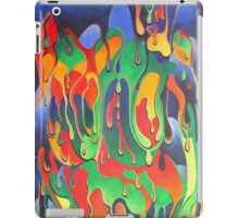 Buxom Nude Woman Splashed With Paint iPad Case/Skin