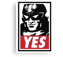 """""""YES!"""" Canvas Print"""