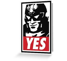 """""""YES!"""" Greeting Card"""
