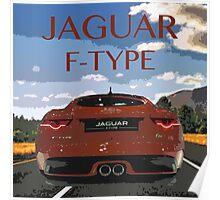 Jaguar F-Type Poster