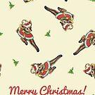 Christmas - Vintage Reindeer by The Eighty-Sixth Floor