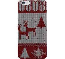 Ugly Christmas sweater iPhone Case/Skin
