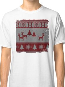 Ugly Christmas sweater Classic T-Shirt