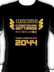 Kiroshi Cybertechnic Batteries - Yellow/Orange T-Shirt