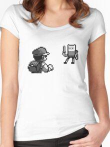 Ash vs Finn Women's Fitted Scoop T-Shirt