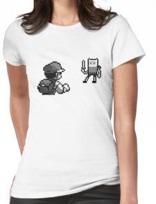 Ash vs Finn Womens Fitted T-Shirt