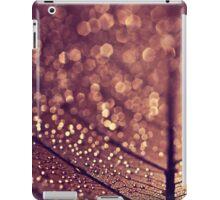 copper rain iPad Case/Skin