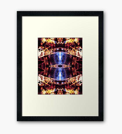 Wildfire - 3 Framed Print