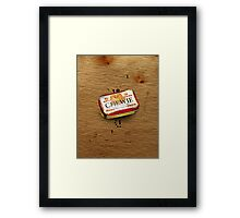 Curiously Furry Mints  Framed Print