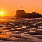 Perranporth Sunset by JEZ22