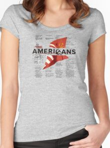 The Americans Women's Fitted Scoop T-Shirt
