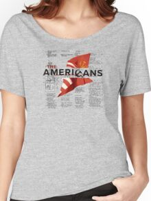 The Americans Women's Relaxed Fit T-Shirt