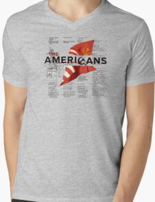 The Americans Mens V-Neck T-Shirt