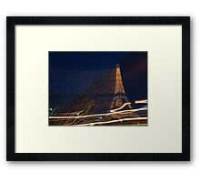 Tower Lights Framed Print