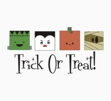 Trick or Treat Monsters by shakeoutfitters