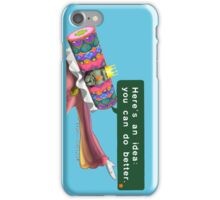 Katamari- King of all Cosmos 'Here's an idea: You can do better.' iPhone Case/Skin